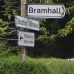 Bramwall sign