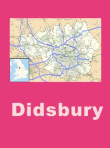 Didsbury map sign