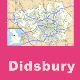 Didsbury map sign