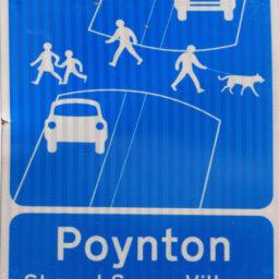 Poynton sign