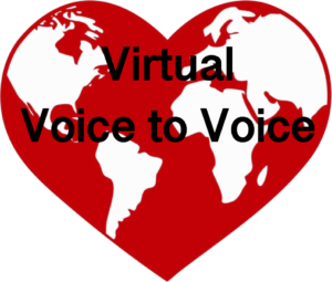 Virtual Voice to Voice Choir logo